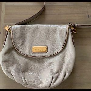 Marc Jacobs grey cross-body purse